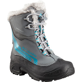 Columbia Bugaboot Plus IV Omni-Heat Stiefel Jugend ti grey steel/pacific rim